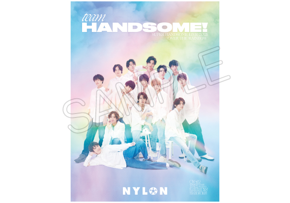 TEAM HANDSOME! NYLON SUPER vol.4 – SUPER HANDSOME LIVE 2021 OVER THE RAINBOW-