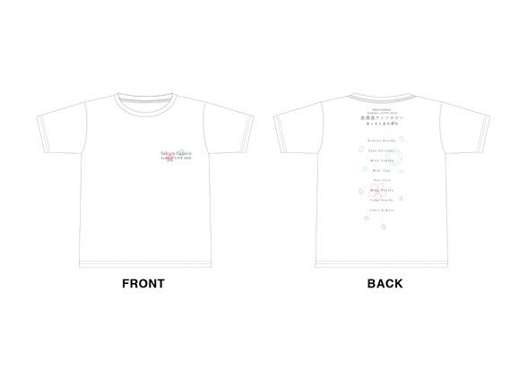 『さくら学院 Summer LIVE 2020 ~放課後アンソロジー 君と見た夏色桜花~』 Tシャツ(S、M、L、XL)